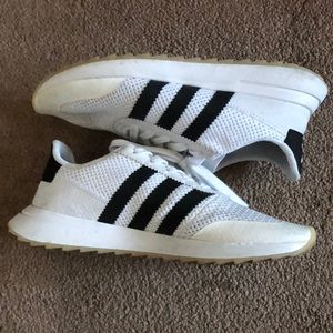 Adidas White w/ Black Stripe Shoes